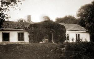Najstarsze zdjecie dworu - ok. r. 1902