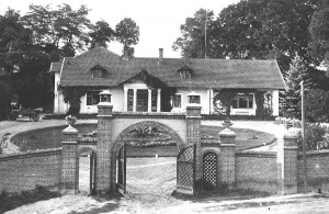Dwór w Odonowie w latach 20-tych XX w.