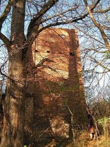 Wieża ciśnień w Odonowie - stan z r. 2007